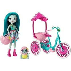 Mattel Enchantimals Κούκλα Και Ζωάκι Φιλαράκι Με Όχημα Built For Two FJH11 / FCC65 887961447606