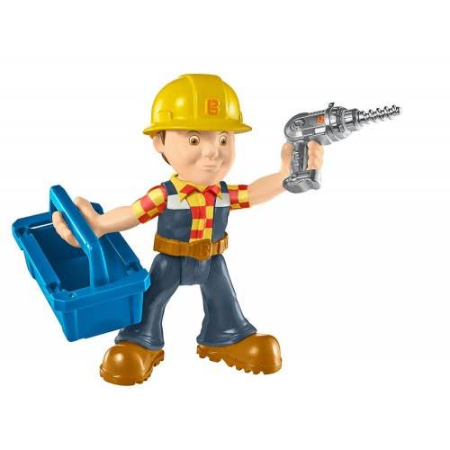 Fisher-Price Bob The Builder Rock Repair Και Build Bob Figure DHB05 / DHB06 887961206111