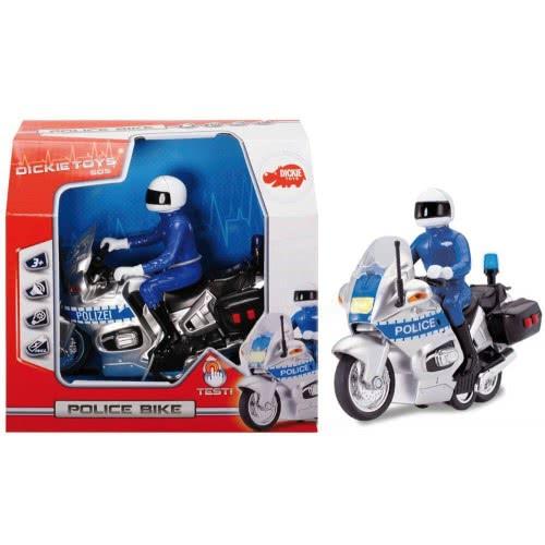 DICKIE TOYS Dickie Μοτοσυκλέτα Αστυνομίας International Police Bike 203712004038 4006333039270