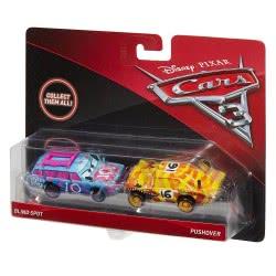 Mattel Disney/Pixar Cars 3 Blind Spot And Pushover Vehicles, 2 Pack DXV99 / FGF02 887961502749
