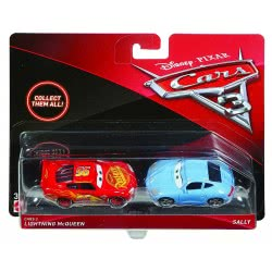Mattel Disney/Pixar Cars 3 Lightning Mcqueen And Sally Vehicles DXV99 / DXW05 887961403749