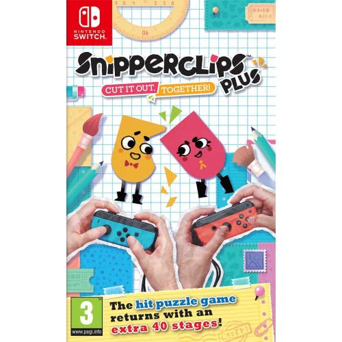 Nintendo Switch Snipperclips: Cut it out Together  045496421144