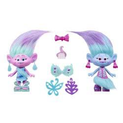Hasbro Dreamworks Trolls Satin And Chenille Style Set B6563 5010994963507