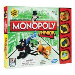 Hasbro Επιτραπέζιο Παιχνίδι Monopoly Junior A6984 5010993355174