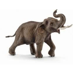 Schleich Asian Elephant male 14754 4005086147546