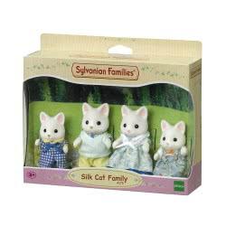 Epoch The Sylvanian Families - Οικογένεια Silk Cat 4175 5054131041758