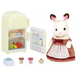 Epoch Sylvanian Families Chocolate Rabbit Μαμά Με Ψυγείο 5014 5054131050149