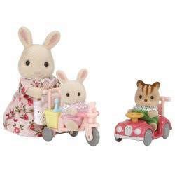 Epoch Sylvanian Families: Μαμά Και Μωρά Με Ποδηλατάκια 5040 5054131050408