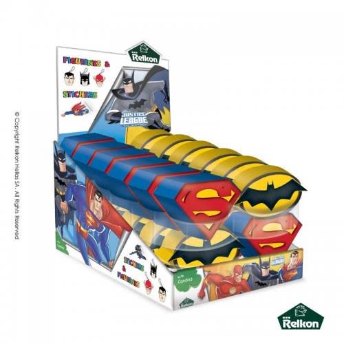 Diakakis imports Κουμπαράς Justice League 1τεμάχιο σε 2 σχέδια Ζ-76211 5200701003279
