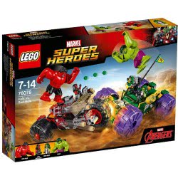 LEGO Super Heroes Mighty Micros: Hulk vs. Red Hulk 76078 5702015868631