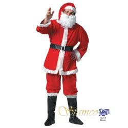 Stamco Xmas Στολή Άγιος Βασίλης Ενηλίκων One size 442211 5221275907701