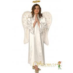 Stamco Xmas Costume Angel for Adults One size 441104 5221275907541