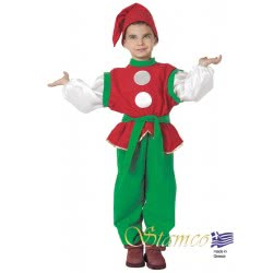 Stamco Xmas Custume Elve Of Santa Clauss Num.6 444121-6 5221275907626