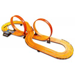 KiDZ TECH Hot Wheels Race Track Slot Car X 2 - 6.32M 83129 4894380831295