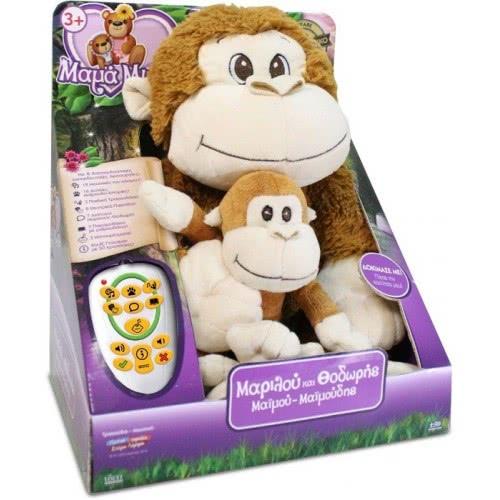 ιδεα Idea Marilou and Thodoris Maimoudis: Mother and Baby Monkey 14850 5206051148509