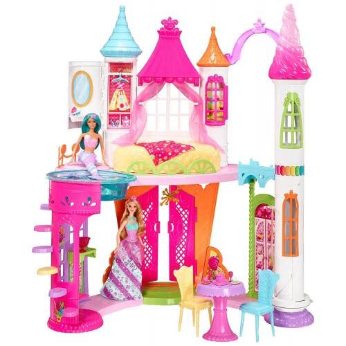 c28365b3ea Mattel Barbie Dreamtopia Sweetville Castle DYX32 887961424669
