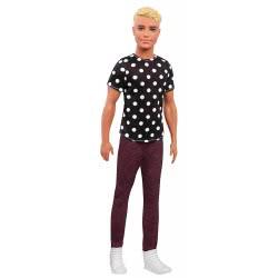 Mattel Barbie Ken Fashionistas No.14 Black And White Ken DWK44 / FJF72 887961535143