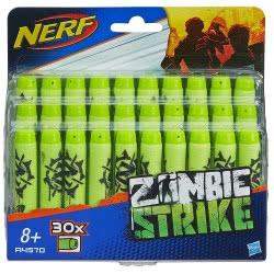 Hasbro NERF Zombie Strike 30-Pack Deco Refill - Ανταλλακτικά Βέλη A4570 5010993339198