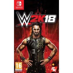 2K Games Nintendo Switch WWE 2K18 Standard Edition  5026555066969