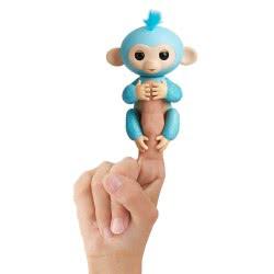 WowWee Fingerlings Glitter Monkey Amelia - Μπλε 3761 / 3760A 771171137610