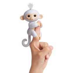 WowWee Fingerlings Glitter Monkey Sugar - White 3763 / 3760A 771171137634
