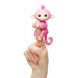 WowWee Fingerlings Glitter Monkey Rose - Ροζ 3764 / 3760A 771171137641