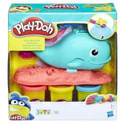 Hasbro Play-Doh Wavy The Whale E0100 5010993462476