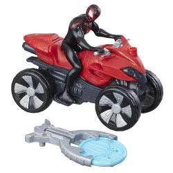 Hasbro Marvel Spiderman Blast And Go Racer Kid Arachnid Φιγούρα Με Όχημα B9705 / B9995 5010993458479