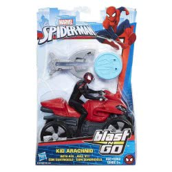 Hasbro Marvel Spiderman Blast And Go Racer Kid Arachnid With ATV B9705 / B9995 5010993458479