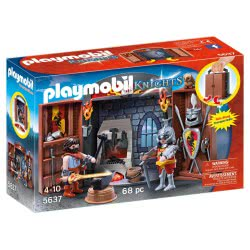 Playmobil Play Box Σιδηρουργείο Ιπποτών 5637 4008789056375