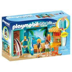 Playmobil Surf Shop Play Box 5641 4008789056412