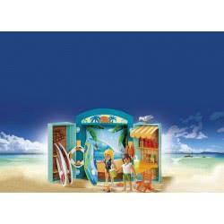 Playmobil Play Box Surf Shop 5641 4008789056412
