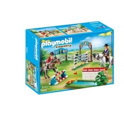 Playmobil Στίβος Ιππασίας Με Εμπόδια 6930 4008789069306