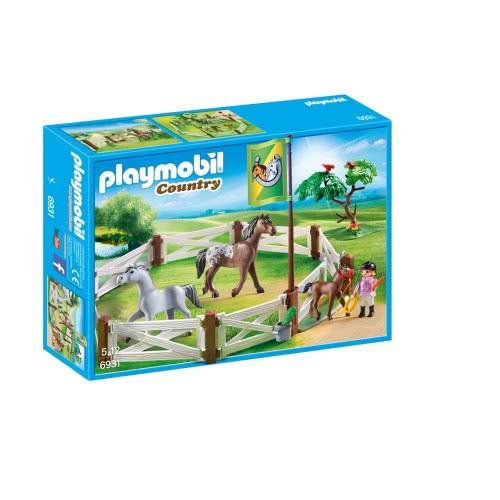 Playmobil Άλογα με περίφραξη 6931 4008789069313