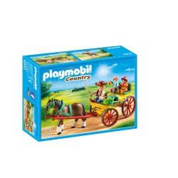 Playmobil Άμαξα Με Οδηγό Και Παιδάκια 6932 4008789069320