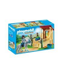 Playmobil Άλογο Απαλούζα Με Στάβλο 6935 4008789069351