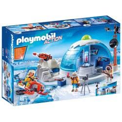 Playmobil Arctic Expedition Headquarters 9055 4008789090553