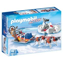 Playmobil Husky-Drawn Sled 9057 4008789090577