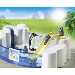 Playmobil Πισίνα Με Πιγκουίνους 9062 4008789090621