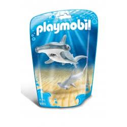 Playmobil Σφυροκέφαλος Καρχαρίας Με Το Μικρό Του 9065 4008789090652