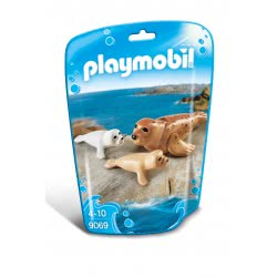 Playmobil Seal with Pups 9069 4008789090690