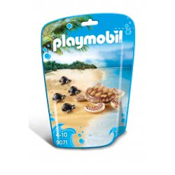 Playmobil Θαλάσσια Χελώνα Με Χελωνάκια 9071 4008789090713