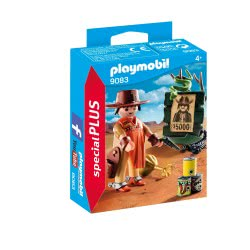 Playmobil Cowboy with Wanted Poster 9083 4008789090836