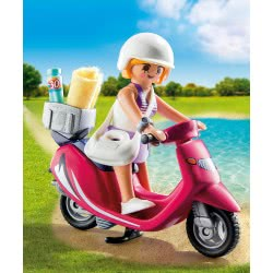 Playmobil Beachgoer with Scooter 9084 4008789090843