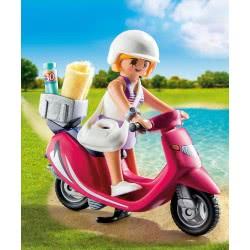 Playmobil Κοπέλα με σκούτερ 9084 4008789090843