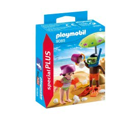 Playmobil Children at the Beach 9085 4008789090850