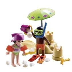 Playmobil Children at the Beach 9085 4008789090850