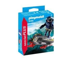Playmobil Ιππότης του διαστήματος με Jet 9086 4008789090867