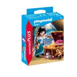 Playmobil Πειρατίνα με θησαυρό 9087 4008789090874