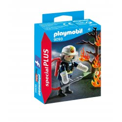 Playmobil Firefighter with Tree 9093 4008789090935